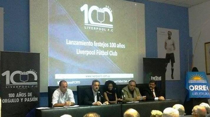 Los festejos por el aniversario número cien de Liverpool FC