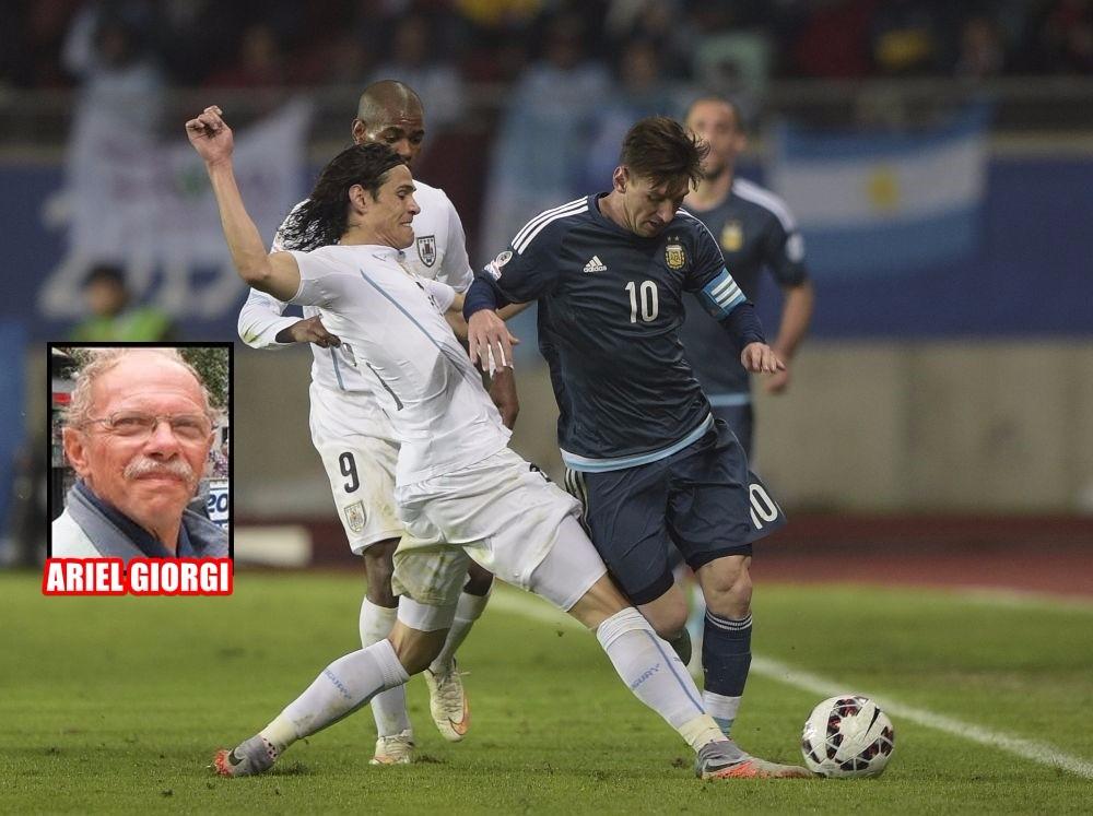 Ariel Giorgi opina lo mejor y lo peor de Uruguay 0 Argentina 1