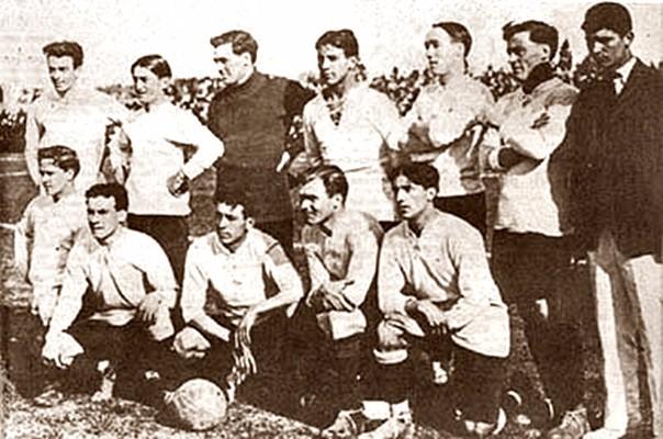 Uruguay campeón de la Copa América 1916