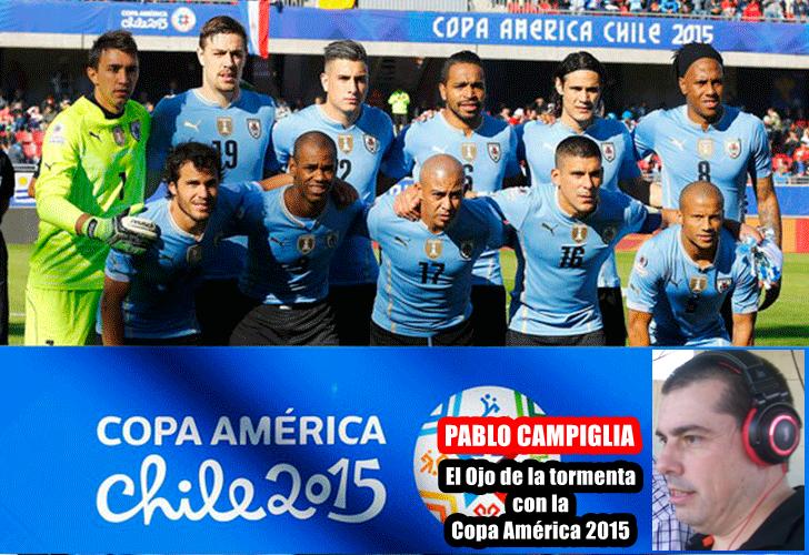 """Opina Pablo Campiglia:""""Uruguay a mi no me termina de convencer y menos batir el parche"""""""