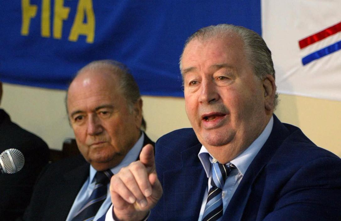 FIFA tan temida, hoy detenida