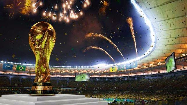 Los Mundiales de fútbol acomodados desde la FIFA
