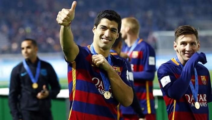 Luis Suárez, Balón de Oro del Mundial de Clubes
