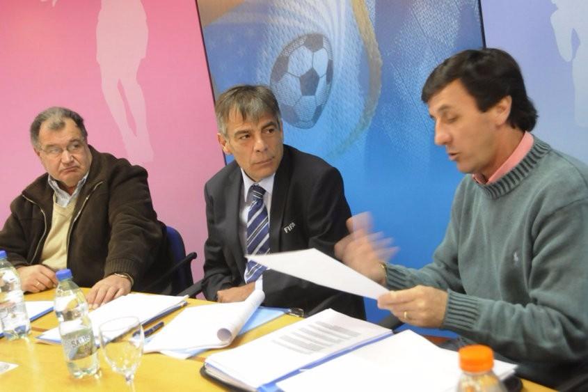 La OFI denunciando a la AUF ante el Parlamento uruguayo