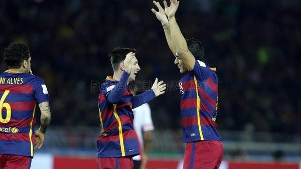 Barcelona gracias a Suárez, es el campeón mundial de clubes 2015
