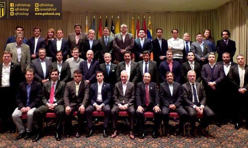 Se reunió por primera vez el Comité Ejecutivo de la Liga Sudamericana de Clubes de Fútbol