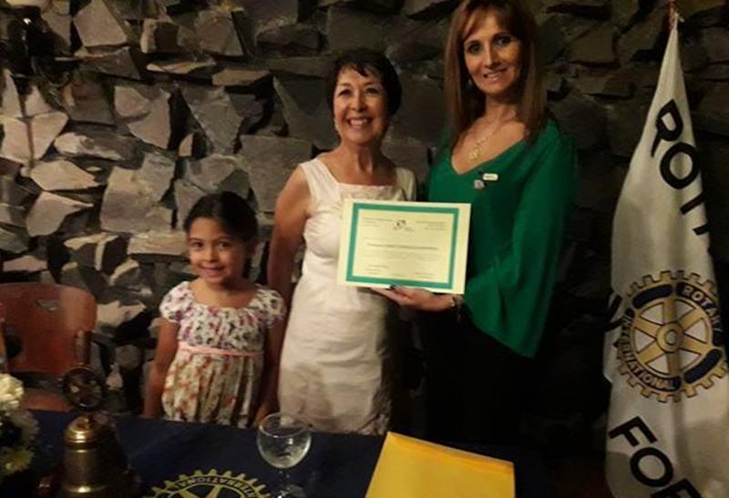 """Atrapante tema:""""La Mujer de la Aldea"""", organizó el Rotary Club Rivera Fortín"""