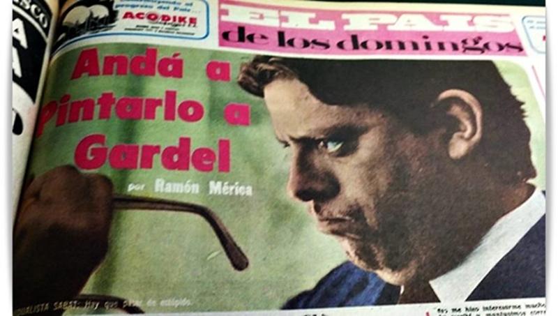 Ramón Mérica a «Menchi» Sábat. Andá a pintarlo a Gardel