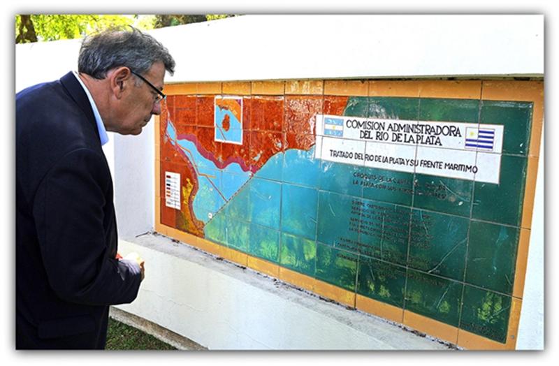 Qué hacer con la Isla Martín García, fue la visita y reunión de los cancilleres de Uruguay y Argentina
