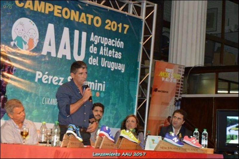Lanzaron el campeonato 2017 de la Agrupación de Atletas del Uruguay