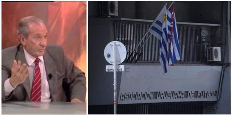 Cuando el Dr. Amadeo Otatti, sugirió bajar la cortina de la Asociación Uruguaya de Fútbol
