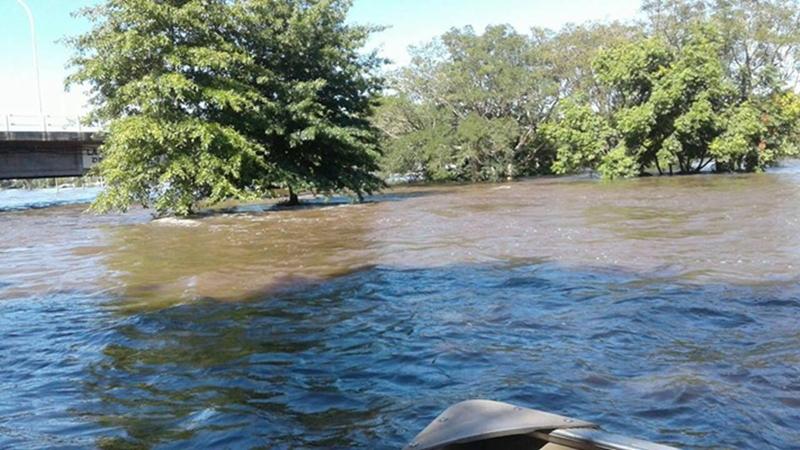 El agua bajó en Artigas y deja imágenes pavorosas del departamento