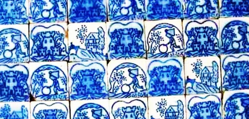 Veredas. Conversación en azul y blanco con el azulejo en la arquitectura rioplatense
