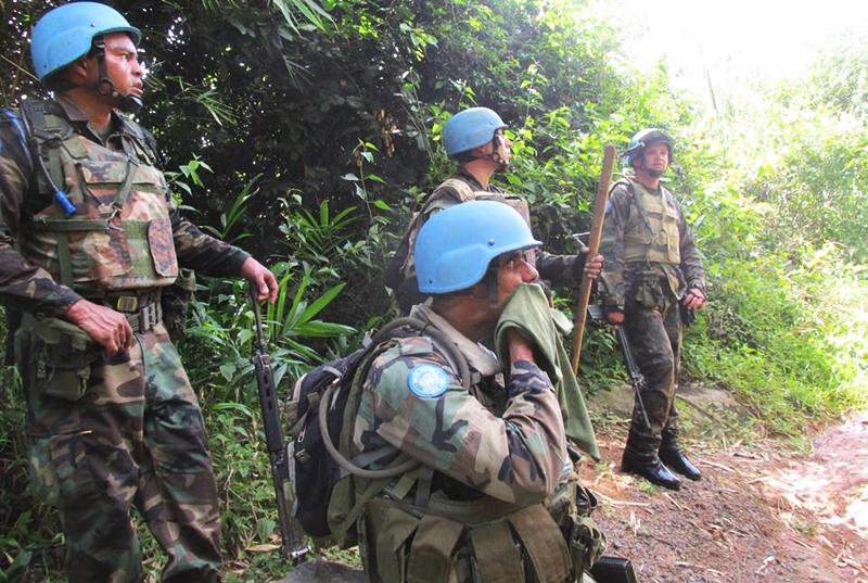 Soldados de el Batallón Uruguay IV en el Congo, están indignados con nuestra prensa