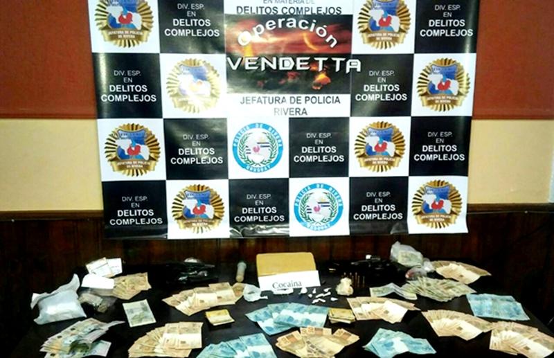 """La """"Operación Vendetta"""" en Rivera es noticia delictiva en todo el mundo"""
