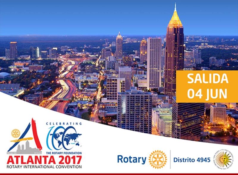 Celebra con nosotros en Atlanta la Convención Rotary 2017, con la presencia de Bill Gates