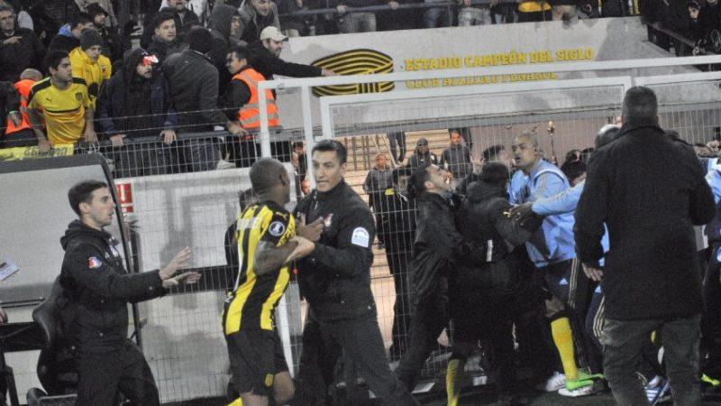 """Ariel Giorgi:  """"Cero seguridad hay en el fútbol uruguayo"""""""
