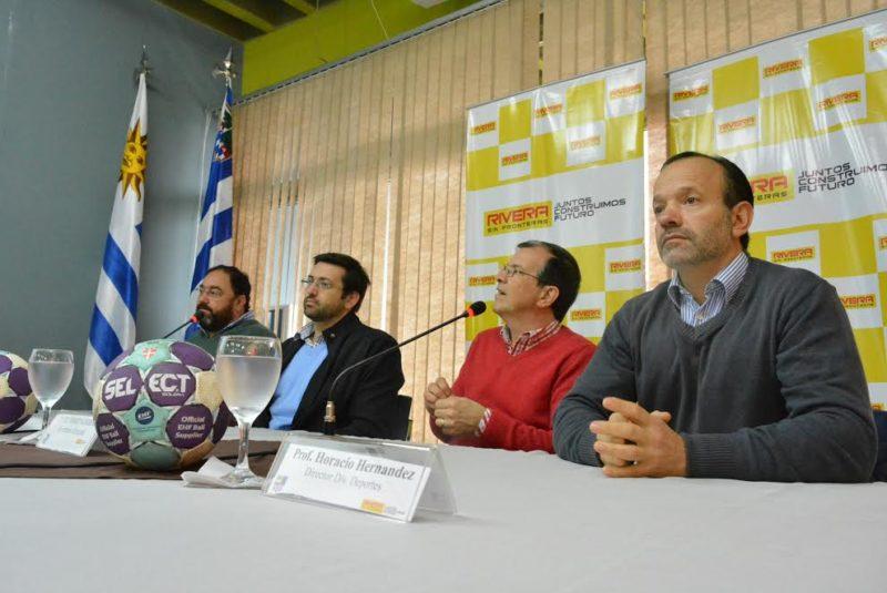 Inauguraron la primer liga de handball del norte en la ciudad de Rivera