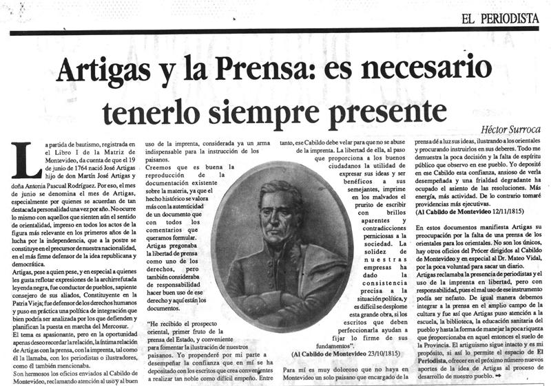 """""""Historia de la prensa en Uruguay"""", es un libro necesariamente cargado de pasión"""