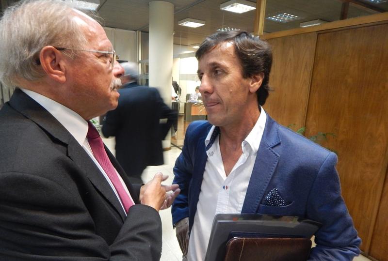 """Gustavo Bares:""""Mientras sea presidente de OFI no voy a vender los derechos totales del fútbol del interior a ninguna empresa"""""""