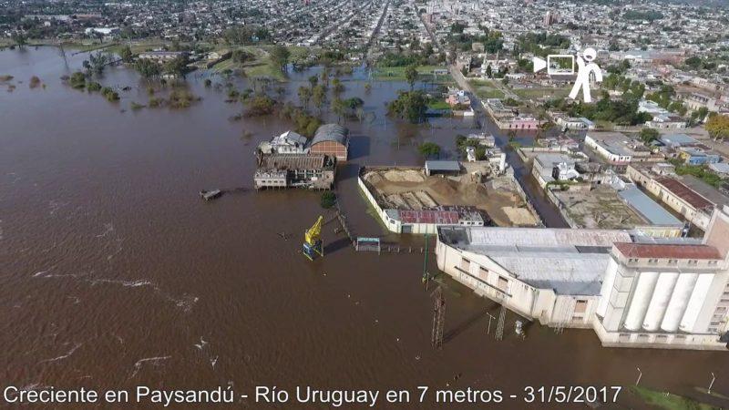 Aunque permanecen 7035 personas desplazadas en todo el país a causa de las inundaciones, Salto y Paysandú inician tareas preparatorias del operativo retorno