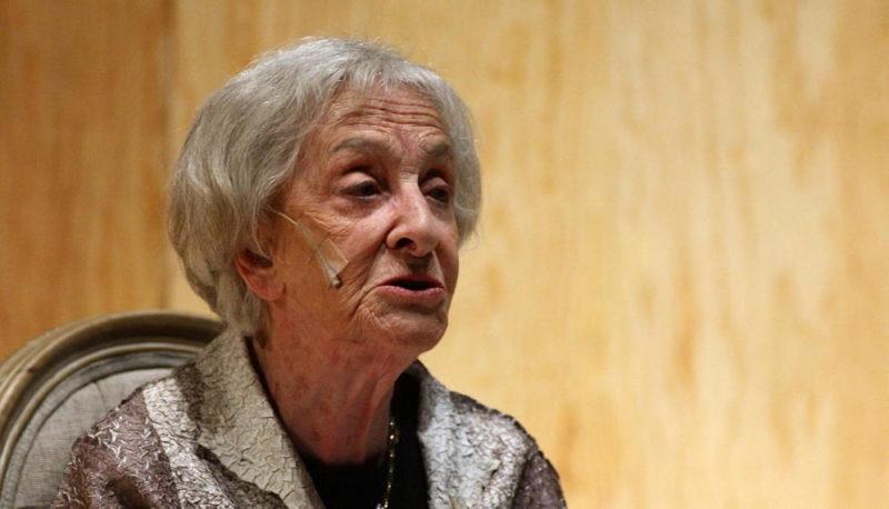 """Ida Vitale:""""la verdad es que, en años, aquí leí una sola vez, en el Instituto Español"""""""