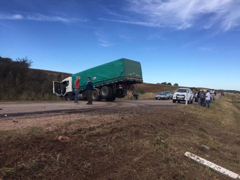 Siete imágenes del imponente accidente en ruta 8, entre Melo y Aceguá
