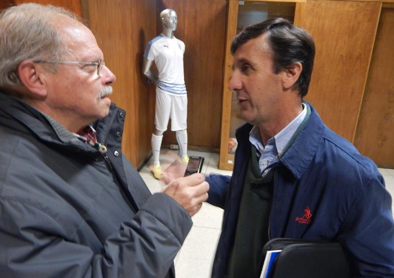 (Audio) El 30J en la sede de la AUF, con la OFI anulada, es comentario de Ariel Giorgi para todo el fútbol
