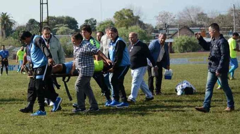 El presidente de la Liga de Fútbol de Paysandú, sería denunciado penalmente por el club Peñarol de Rivera