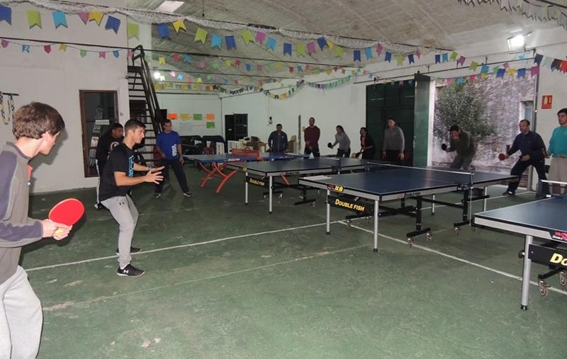 Promueven en Rivera primer circuito de tenis de mesa