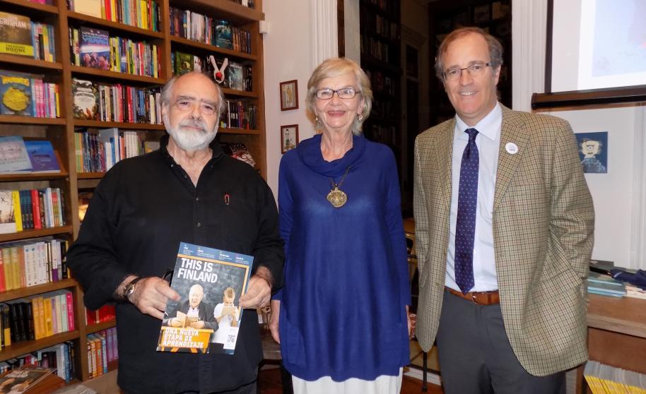 La Academia Sueca premia a la Dra. Louise von Bergen, por sus trabajos en Uruguay durante 32 años