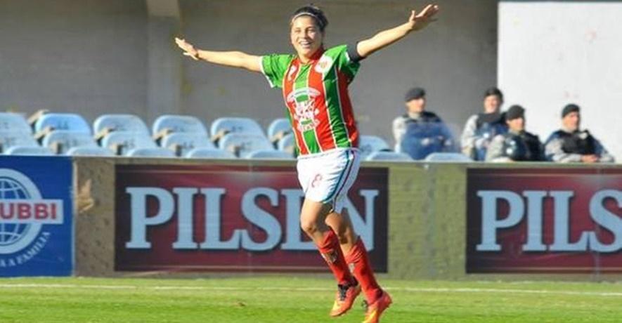 """La josefina Mariana Pion es Premio """"Charrúa"""", porque es la mejor futbolista del Uruguay"""