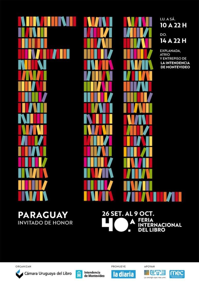 Toda la programación de la Cuadragésima Feria Internacional del Libro de Montevideo 2017