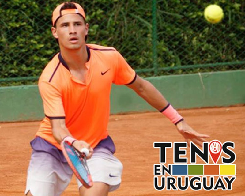 El tenis uruguayo está salvado por el sanducero Francisco LLanes