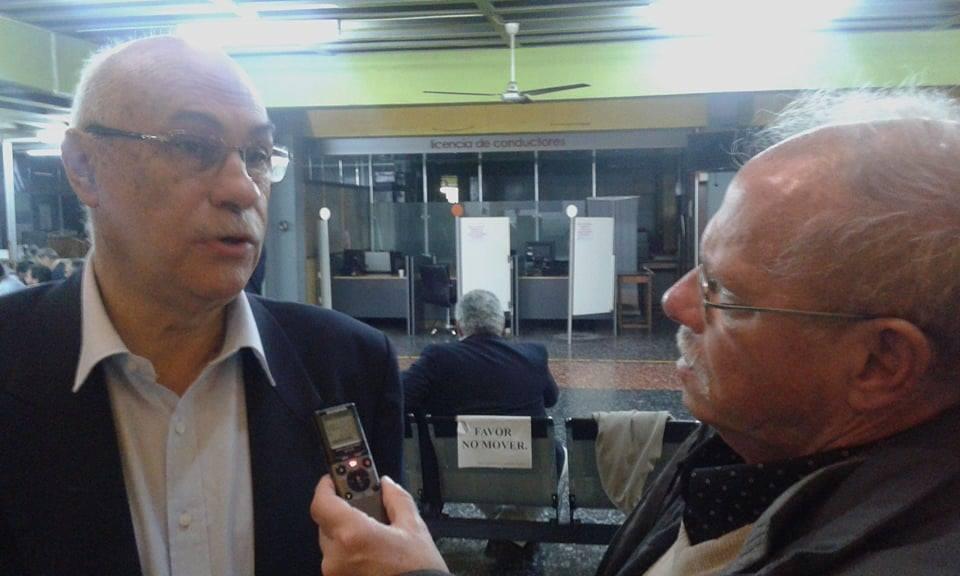 """(Audio) Muy presente está Miguel Fernández Plá:""""Yo lo que estoy observando en toda la dirigencia, de que las cosas no se hacen con discursos, con escritos. Vos tenés que poner la persona capacitada para hacer la tarea en la AUF"""""""