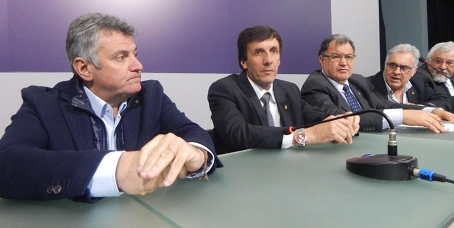 Reunión entre presidentes de la AUF y la OFI, permite que se juegue las competencias de integración Sub 15 y Sub 16
