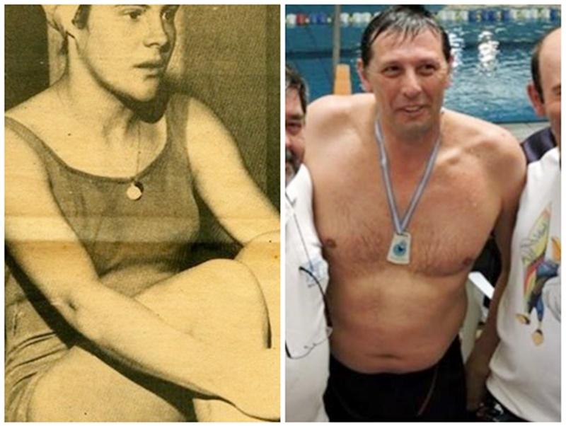 La época de oro de la natación uruguaya tiene a dos extraordinarios sanduceros: Carlos Scanavino y Ana María Norbis