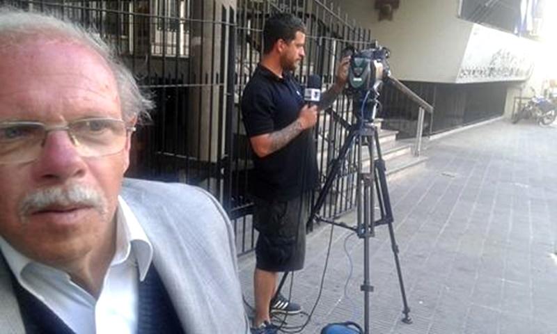 """(Audio) Ariel Giorgi:""""El Dr. Sebastián Bauzá, me dijo: que es potestad del presidente de disponer que la sesión sea en régimen de comisión general, pero le tiene que comunicar al Ejecutivo y además, a las otras autoridades que tengan el mismo rango de él, caso, de Gustavo Bares, presidente de la OFI"""""""