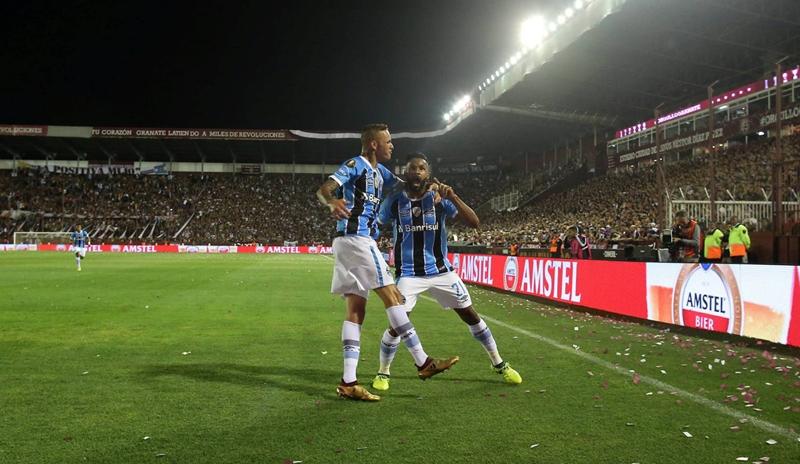 Gremio campeón de la Copa Libertadores de América 2017. Todos los partidos
