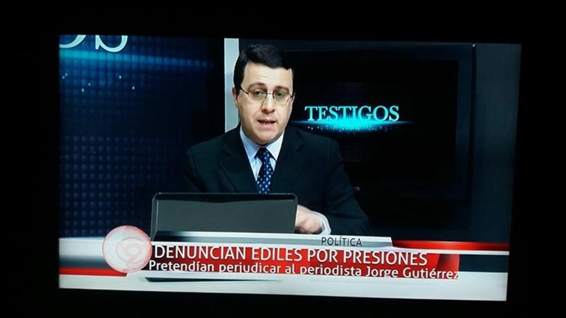 ¡¡¡Vamos bárbaro!!! Un periodista de San José fue presionado por Ediles, por remitir un pedido de informes a la Junta