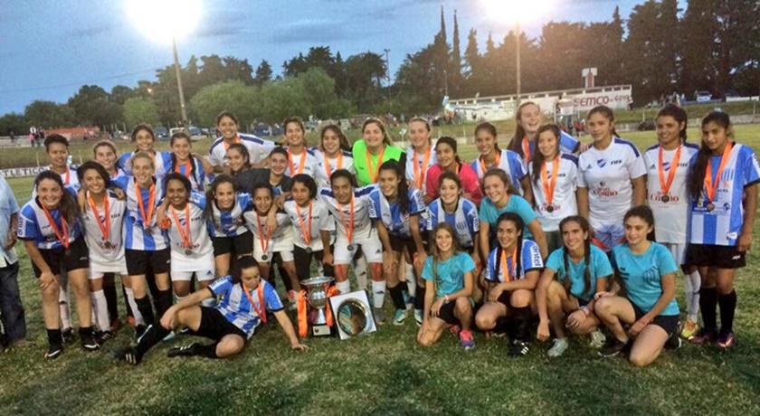 Palmirense (Nueva Palmira), es campeón del 5° Campeonato Sub 16 de Fútbol Femenino de la OFI