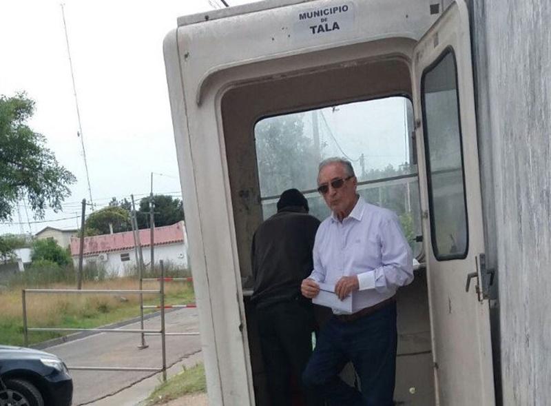 El día de la libertad provisional de Eugenio Figueredo en el Uruguay