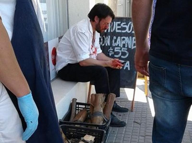 El hijo del senador Dr. Jorge Larrañaga, fue detenido esta mañana en Paysandú en el marco de un arresto domiciliario