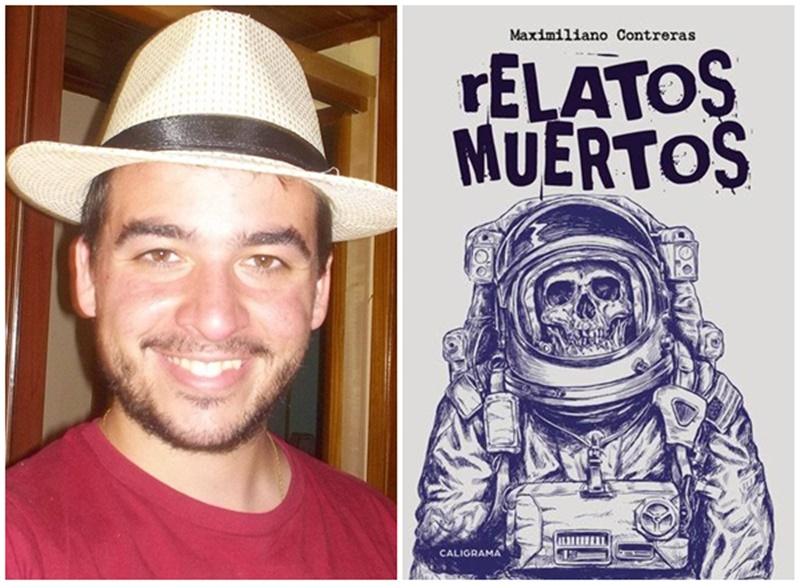 """Un poeta de Tunuyán llega a Diario Uruguay. El mendocino Maximiliano Contreras:""""Hay un boom latinoamericano, pero creo que empieza a gestarse, dentro de unos años volverán a mirar a Latinoamérica…"""""""