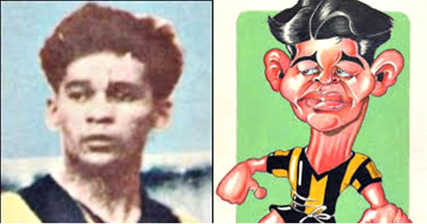 """Chirimino, futbolista que con su magia """"desparramó"""" su nombre por todo el país"""