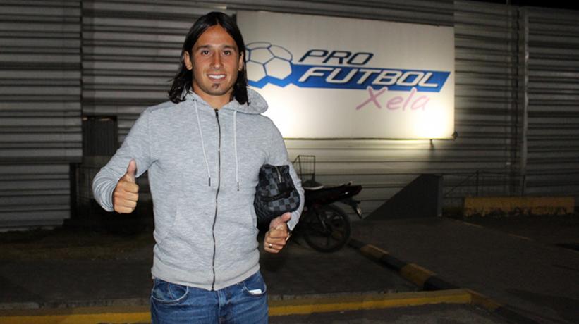 (Audio) La palabra del riverense Enzo Scorza al llegar al desconocido fútbol guatemalteco