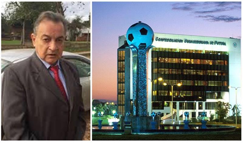 La demanda laboral del periodista duraznense Ismael Pintos, puede costarle la sede a la Conmebol
