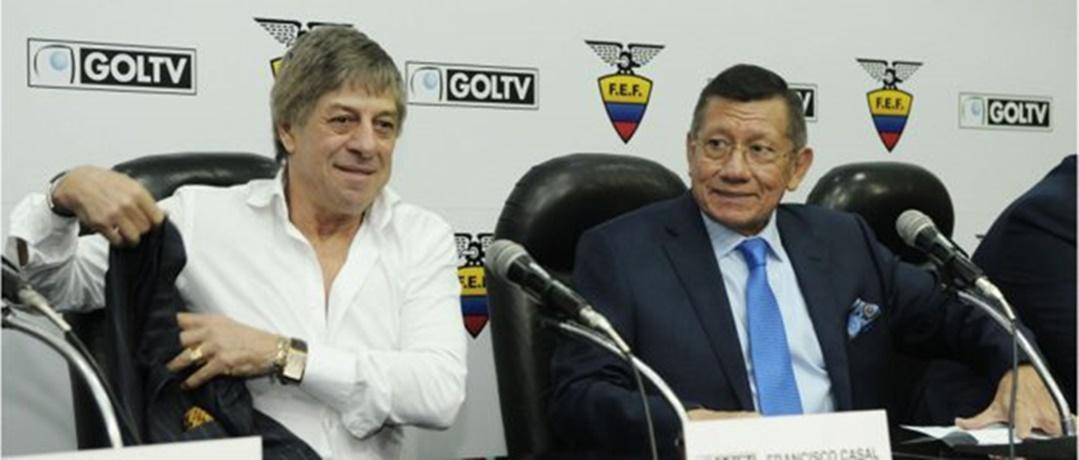 Acuerdo Paco:El fútbol ecuatoriano recibirá 640 millones de dólares por contrato con GolTV