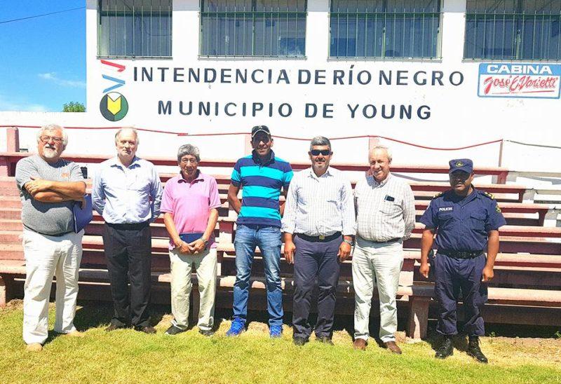 ¿Habilitarán el Estadio Juan Antonio Lavalleja de Young, tras el ataque violento que sufrió el árbitro Fernando Di Maggio?