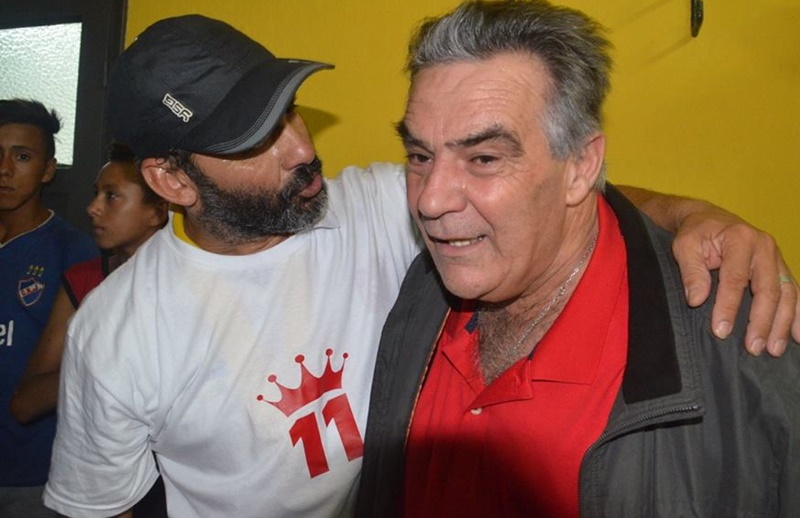 El todavía eufórico intendente de Durazno, Carmelo Vidalín, anunció las nuevas obras con el respaldo de la Secretaría Nacional de Deportes
